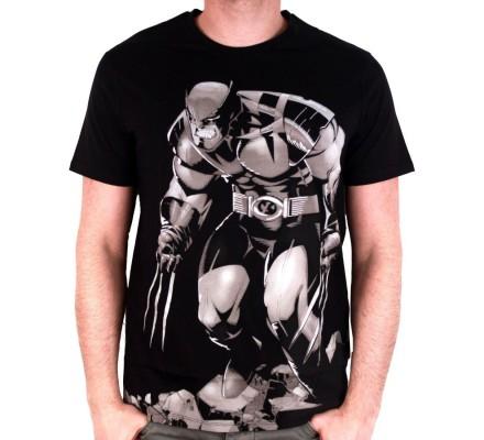 Tee-Shirt Gris Rage Wolverine
