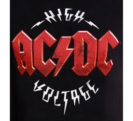 Tee-Shirt Homme High Voltage ACDC