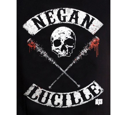 Tee-Shirt Negan Lucille The Walking Dead