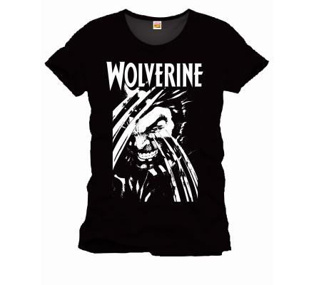 Tee-Shirt Noir Claws Wolverine