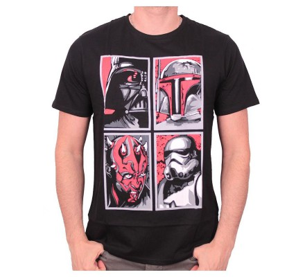 Tee-Shirt Noir Evil Gallery  Star Wars