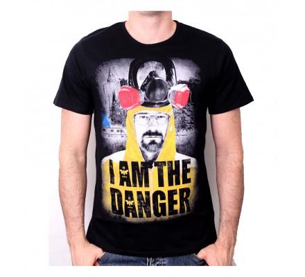 Tee-Shirt Noir I Am The Danger Breaking Bad