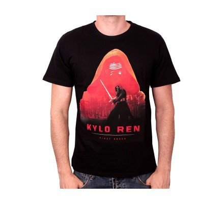 Tee-Shirt Noir Kylo Poster Star Wars