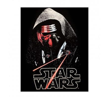 Tee-Shirt Noir Kylo Ren Fighters Star Wars 7