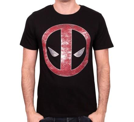 Tee-Shirt Noir Logo Millar Deadpool