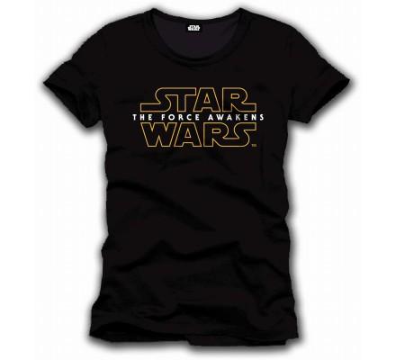 Tee-Shirt Noir The Force Awakens Star Wars 7