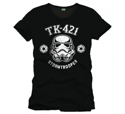 Tee-Shirt Noir TK-421 Trooper Star Wars
