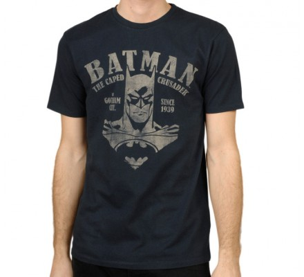 Tee-Shirt bleu marine Vintage Victory Batman