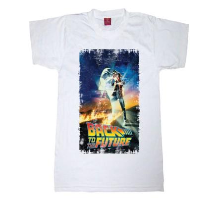 Tee-Shirt Poster Retour Vers le Futur