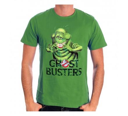 Tee-Shirt Vert Slimer Ghostbusters