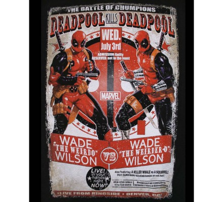 Tee-Shirt Wade VS Wilson Deadpool