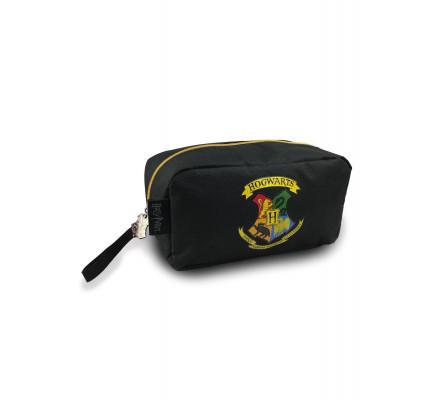 Trousse Poudlard noire et jaune Harry Potter