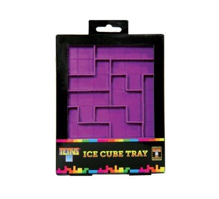 Bac à glaçons mauve SIlicone Tetris