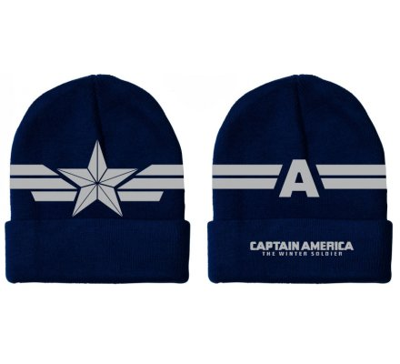 Bonnet Bleu Star Wings Captain America