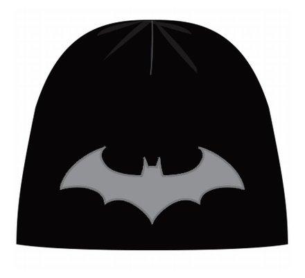 Bonnet Noir Classique Logo Gris Batman