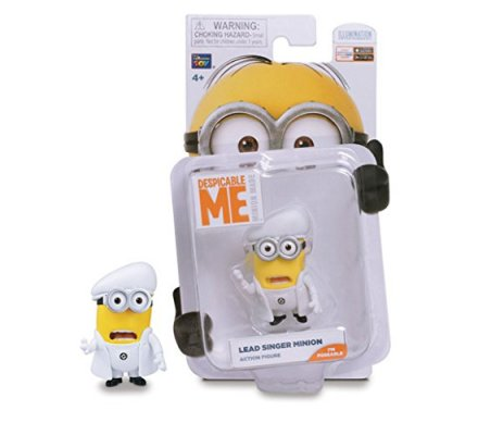 Figurine 5cm Lead Singer Minion Moi Moche et Mechant