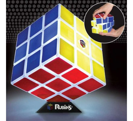Lampe Rubik's Cube Geek