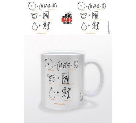 Mug Blanc Boson de Higgs The Big Bang Theory