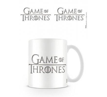 Mug Blanc Céramique Logo Game of Thrones