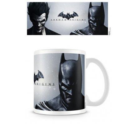 Mug Blanc Joker & Batman Arkham Batman
