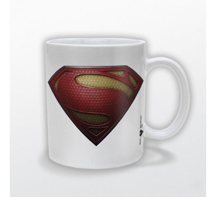 Mug Blanc Man of Steel Superman