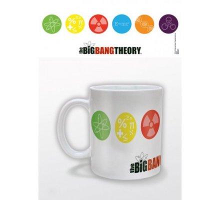 Mug Blanc Symboles The Big Bang Theory