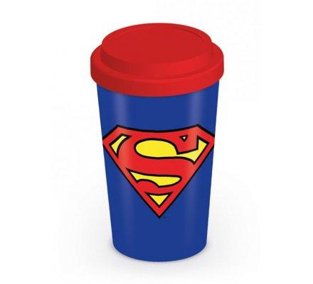 Mug de voyage Bleu Superman