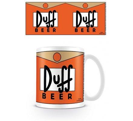 Mug Duff Beer Simpsons