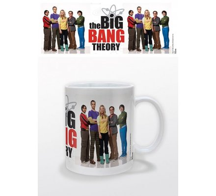Mug Group Portrait The Big Bang Theory