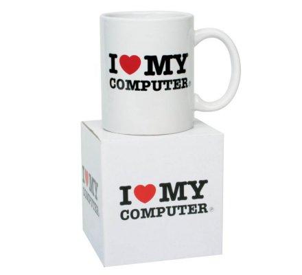 Mug I Love My Computer Geek