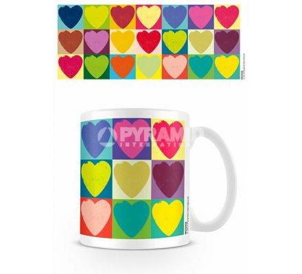 Mug Pop Art Coeur Saint Valentin