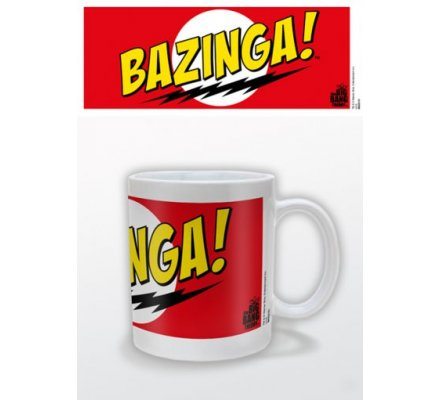 Mug Rouge Bazinga The Big Bang Theory