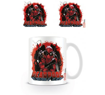Mug Smoking Gun Deadpool