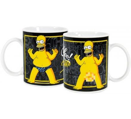 Mug Strip Tease Homer Simpsons