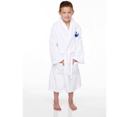 Peignoir Enfant Blanc R2D2 Star Wars