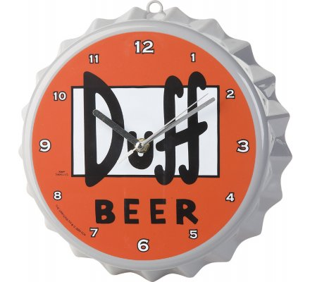 Pendule Duff 22 cm Simpsons