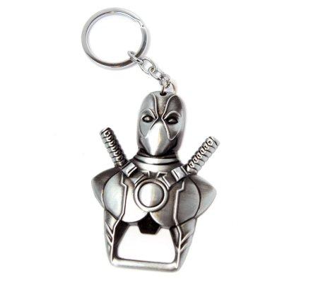 Porte-clés Acier Buste Deadpool