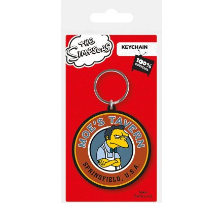Porte-clés Caoutchouc Taverne de Moe Simpsons