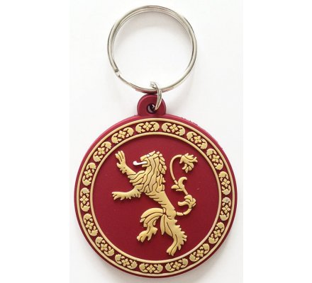 Porte-clés Lannister Caoutchouc 6cm Game of Thrones