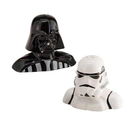 Salière et Poivrière Dark Vador et Stormtrooper Star Wars