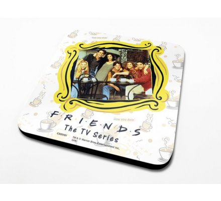 Sous-Verre Framed 10 x 10cm Friends