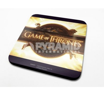 Sous-Verre Logo2 10 x 10cm Game of Thrones
