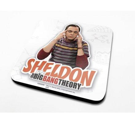 Sous-Verre Sheldon 10 x 10cm Big Bang Theory