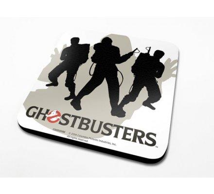 Sous-Verre Silhouettes 10 x 10cm Ghostbusters