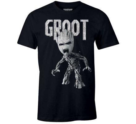 T-Shirt Gardiens de la Galaxie Groot Colère