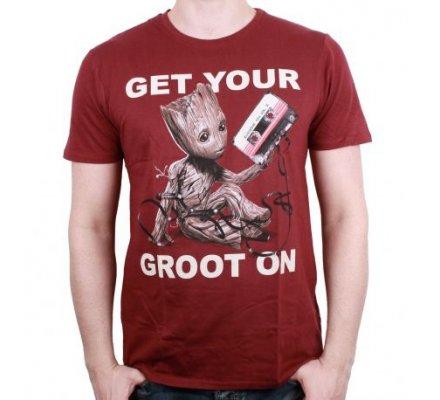 T-Shirt Get your Groot on Gardiens de la Galaxie