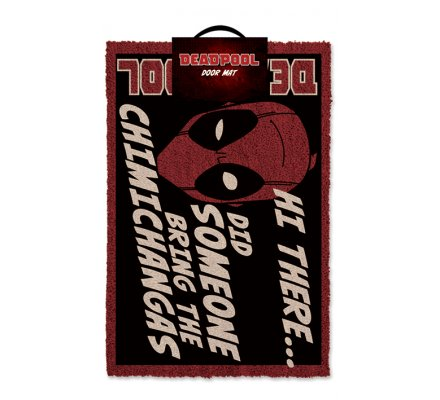 Tapis, Paillasson Hi There Deadpool