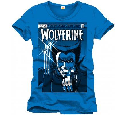 Tee-Shirt Bleu Série Limitée Wolverine