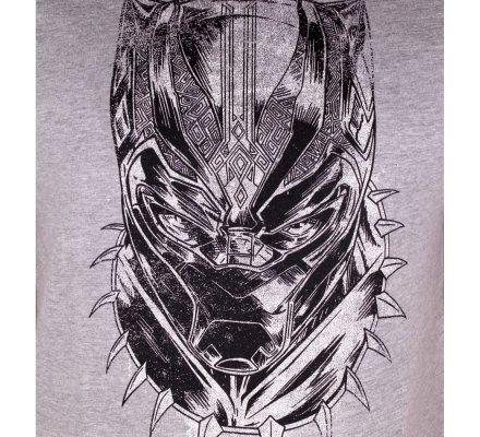Tee-Shirt Face Black Panther
