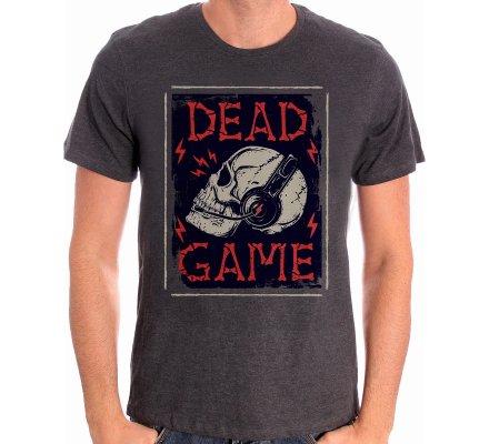 Tee-Shirt Gris Dead Game Geek
